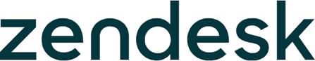 Logo van Zendesk