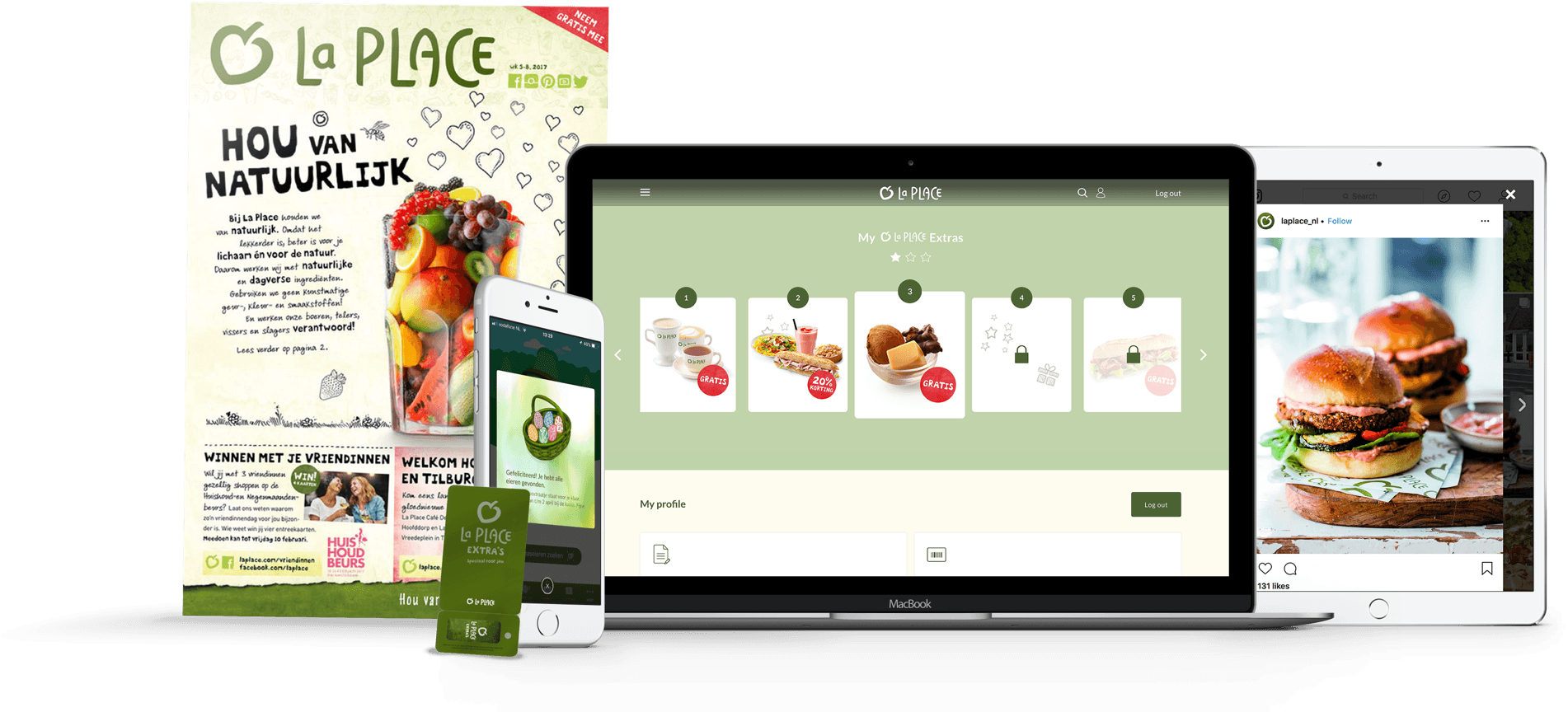 La Place Extra's omni-channel restaurant loyalty program