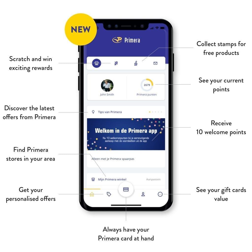 Primera app explained