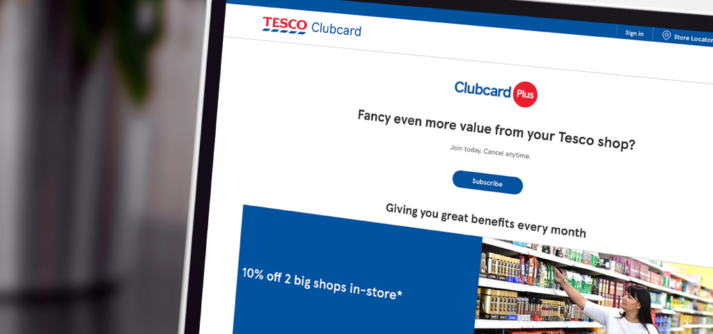 Teco ClubCard Plus website