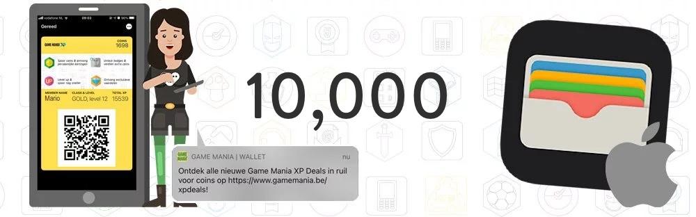 10,000 Apple Wallet users