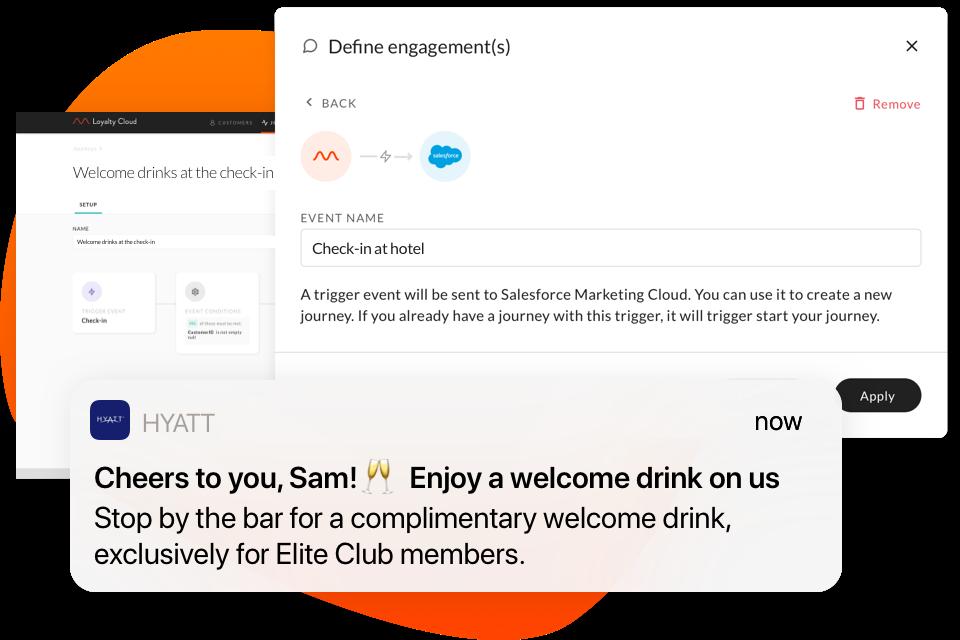 Die Integration zwischen m - weise Loyalty Cloud und Salesforce Marketing Cloud unterstützt die Kundenbindung in Echtzeit